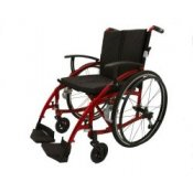 Z-Tec Highline Deluxe Folding Aluminium Self-Propelled Wheelchair