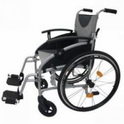 Z-Tec Lightweight Aluminium Self Propelled Wheelchair