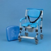 Ocean Wheeled Shower Commode Chair