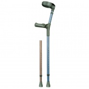 Comfort Grip Adjustable Forearm Crutches