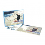 Active Minds At the Beach Dementia Jigsaw Puzzle (24 Pieces)