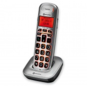 BigTel 1201 Additional Handset for Amplicomms BigTel 1200 Big Button Amplified Cordless Telephone