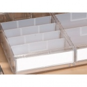 Additional Wide Tray Divider for the Sunflower Medical UDS Trolleys (Pack of 10)
