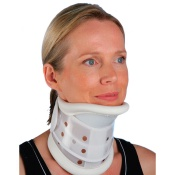 Adjustable Rigid Collar With Chin Support