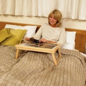 Homecraft Adjustable Wooden Bed Tray
