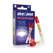 AlcoSense NF Single Use Breathalyser for France (Twin Pack)