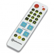 Amplicomms BKR-33 Big Button Universal Remote Control with Illuminated Buttons