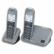 Amplicomms PowerTel 1702 Amplified Cordless Telephone with Additional Handset