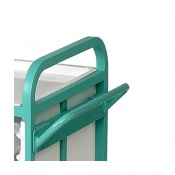 Angled Push Handle for Bristol Maid Caretray Trolleys