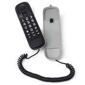 Geemarc Apollo 10 Corded Phone - Black and Grey