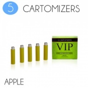 VIP Electronic Cigarette Apple High Strength E-Liquid Cartomisers