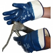 Armanite Blue Fully Coated Handling Gloves