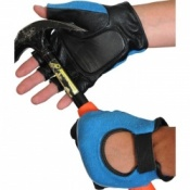 AV-FGG Fingerless Padded Palm Handling Gloves