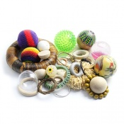 The Ball and Hoop Sensory Play Toy Collection