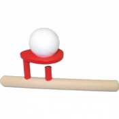 Sensory Speech Therapy Wooden Ball Blower Toy