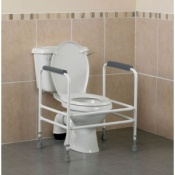 Bariatric Height Adjustable Toilet Surround