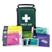 Basic HSE One Person Travel First Aid Kit in Helsinki Bag