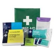 Basic HSE One Person Travel First Aid Kit in Vinyl Wallet