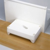 White Bath Step
