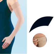 JOBST Bella Lite Compression Class 2 20 - 30 mmHg Black Arm Sleeve