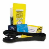 Biohazard Sharps Clean Up Kit (One Application)
