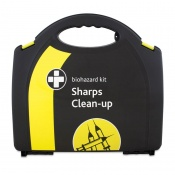 Biohazard Sharps Clean Up Kit