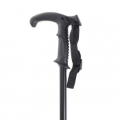 Black Trekking Pole with Shock Absorber