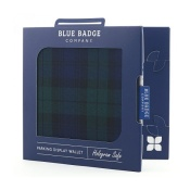 Blue Badge Company Blackwatch Tartan Disabled Parking Permit Holder