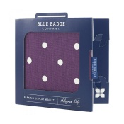 Blue Badge Company Spotty Grape Disabled Parking Permit Holder