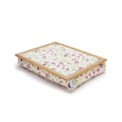 Blue Badge Company Mulberry Rose Bean Bag Lap Tray