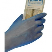 Polyco Bodyguards 4 Blue Vinyl Powder Free Disposable Safety Gloves