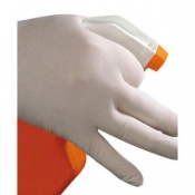 Polyco Bodyguards Latex Powdered Disposable Safety Gloves