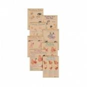 Breastfeeding Chart (Set of 8)