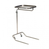 Bristol Maid Height Adjustable, Cantilever 2 Castor Mayo Table