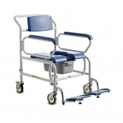 Bristol Maid Bariatric Mobile Commode Chair (610mm)