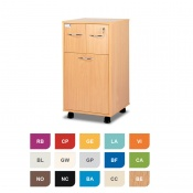 Bristol Maid Two-Tone Bedside Cabinet (Lower Drawer and Two Top Drawers)
