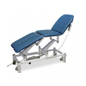 Bristol Maid Electric Four-Section Treatment and Examination Couch with Foot Switch