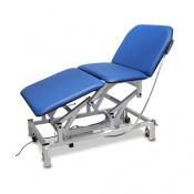 Bristol Maid Three-Section Bariatric Treatment and Examination Couch with Foot Switch and Electric Backrest