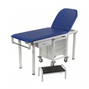 Bristol Maid Fixed-Height Two-Section Treatment and Examination Couch