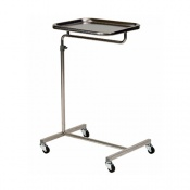 Bristol Maid Height Adjustable Cantilever 4 Castor Mayo Table