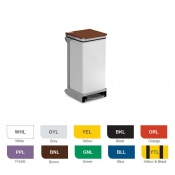 Bristol Maid 20-Litre Hands-Free and Rust-Free Medical Bin with Removable Body