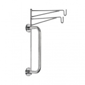 Bristol Maid Wall-Mounted Two-Hook Infusion Bag Holder