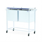 Bristol Maid Large Lockable Medicine Records Trolley