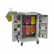Bristol Maid Blister Packed Monitored Dosage System Trolley with Bolt Lock