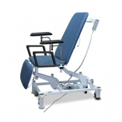 Bristol Maid Electric Three Section Phlebotomy Chair with Foot Switch