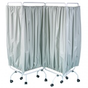 Bristol Maid Four Section Privacy Curtain, Pre-Assembled