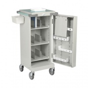 Bristol Maid Nomad Monitored Dosage Trolley with Single Door and Bolt Lock