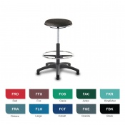 Bristol Maid Techno Stools High Medical Stool (Fabric)