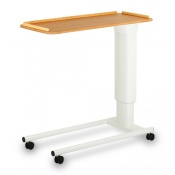 Bristol Maid Beech Laminate 3-Lip Overbed Table