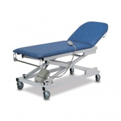 Bristol Maid Vertical Lift Two-Section Treatment and Examination Couch with Foot Switch